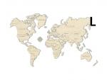 Woodencity: mapa světa L
