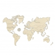 Woodencity: mapa světa XXL